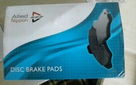 Front disc brake pads new in box