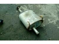 Honda civic 3 Dr ek ej9 standard backbox exhaust pipe