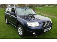 2005 SUBARU FORESTER X 2.0 ESTATE AWD 4 x 4 FULL HISTORY 1 YEARS MOT