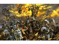 Wanted: Warhammer,Warhammer 40k, Epic, necromunda,ect Paypal waiting, attempt to beat better offers