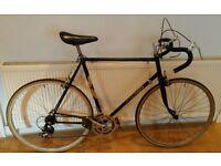 Vintage Raleigh 59cm Road Racing Bike