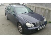 2002 '51 Mercedes C220 cdi estate 6 speed manual. 50mpg. New brakes tyres and battery. PX or swap.