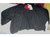 BNWT black cropped cardi from Marks & Spencers. Size 20