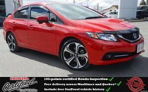 2015 Honda Civic Si, Low Mileage, Navigation, One Owner !!!