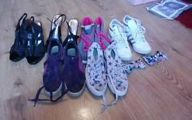 Bundle of trainers