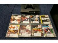 Ps3 250gb plus 8 games.