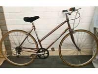 Falcon Vintage/Retro Reynolds 501 Ladies Bike - Lightweight, Fully Serviced