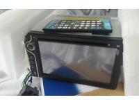Double din LCD car stereo GPS Headunit