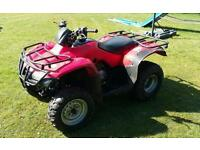 Honda fourtrax 250 2wd recent new tyres