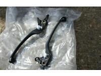 Suzuki hayabusa bandit 1200 black levers