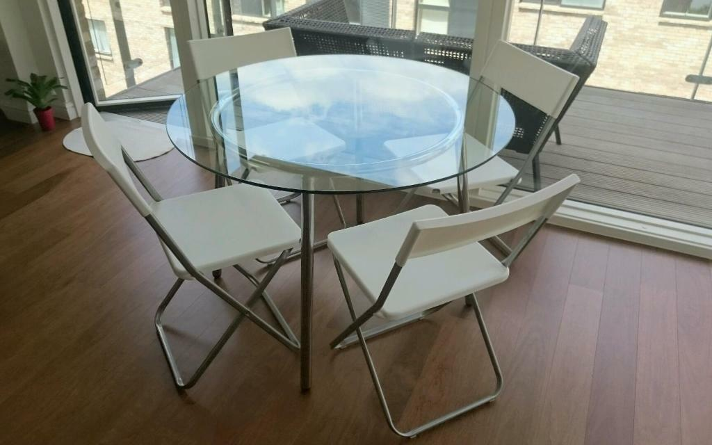 Round Glass dining table in London Gumtree : 86 from www.gumtree.com size 1024 x 640 jpeg 64kB