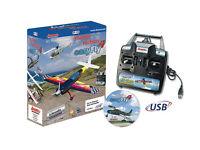 "Jamara 065160 ""Flight Simulator EasyFly4"" Game-Commander Starter Set - NEW Boxed"