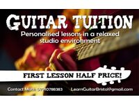 Guitar Lessons - Fun, professional, and tailored to you!