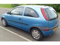 Vauxhall Corsa 1.2 petrol - 11 months MOT