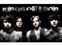 Kings Of Leon Tickets 20th Febuary