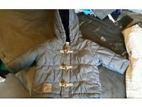 Next baby duffle coat 0-3months and next babygrow 3-6 months