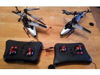 2 X Remote control helicopters Not Working