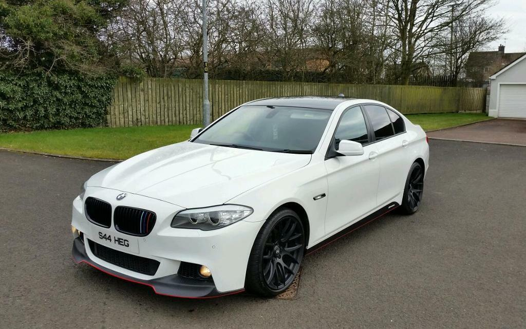 part exchange finance available 2011 bmw 520d f10 in alpine white in ballymena county. Black Bedroom Furniture Sets. Home Design Ideas