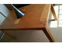 Quality Heavy Pine Dining Table