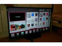 LG 47 inch LED FullHD SMART tv with DualCore CPU, WiFi, WiDi and Freeview HD