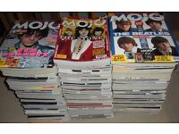 Mojo Magazine Huge Job Lot 1990s to Present Rock 1960s 70s Beatles Stones Zeppelin Floyd Magazines