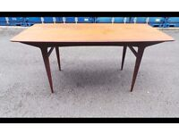Retro Vintage danish table teak table,possible delivery 07448733546