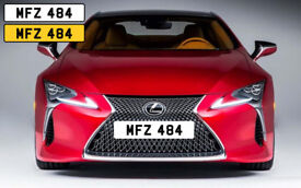 ++ MFZ 484 ++ NO FEES - cherished personal private plate for sale