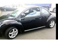 Volkswagen Beetle Black 2003