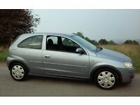 2005 VAUXHALL CORSA 1.0 DESIGN 1 YEARS MOT & TAX 3 DOORHATCH VERY ECONOMICAL CHEAP INSURANCE & TAX