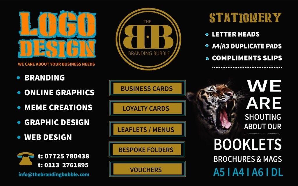 Business signage printing leeds logo design leaflets menu printing business cards image 1 of 3 reheart Choice Image