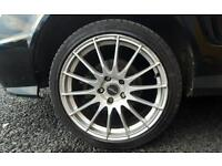 """18"""" Fox racing alloys and tyres"""