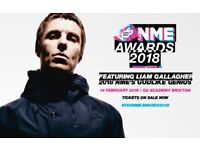 SOLD OUT Liam Gallagher - VO5 NME Awards 2018 x 2
