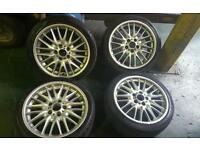 "Bmw 18"" alloy wheels"