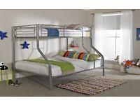 Triple sleeper bunk bed beds