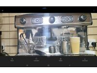 La Spaziale 2 Group Espresso Machine stainless Steel used