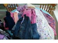 Girls clothes bundle. Approx age range 8-10 years.
