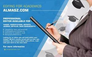 Quality Professional Academic Writing and Editing Services for MA/ PHDs