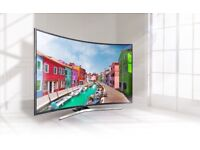 Samsung 49 inch Curved 4K HDR Smart LED TV with TVPlus