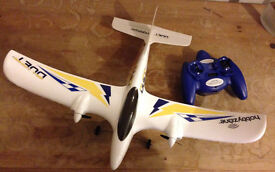 Hobby Zone Duet RTF remote-controlled airplane in perfect condition