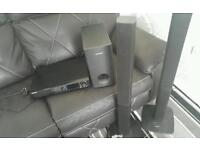 DVD player sub and speakers for sale