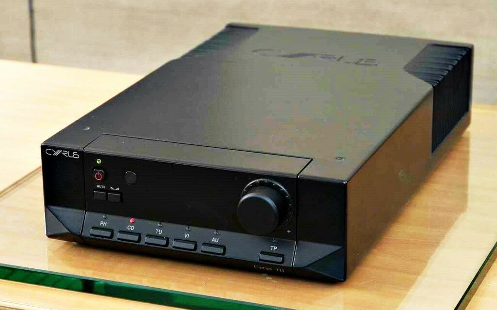 MISSION CYRUS 3 AMPLIFIER BLACK WITH PHONO TURNTABLE CONNECTION | in  Baillieston, Glasgow | Gumtree