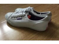 Brand new Super dry trainers size 3 white