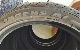 X4 tyres 245/40/19