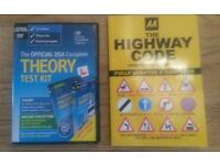 Official DSA Complete Theory Test kit and AA Highway Code