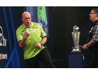 Aberdeen PDC Premier League Darts, Thursday 11th May 2017. Row A