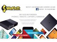 WE FIX IT , iPhones, iPads, Samsung ,Smartphones ,Tablets , MacBook & Laptop Repair Services