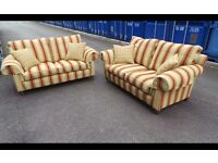 Handmade DURESTA Two 2 seater Sofas suite,Excellent Condition-Delivery Available