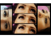 Russian Volume eyelashes extensions-amazingly beautiful eyes, ENFIELD EN1