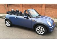 AUTOMATIC MINI COOPER CABRIOLET OVER £5500 OF FACTORY FITTED EXTRAS AUTO MINI COOPER CONVERTIBLE