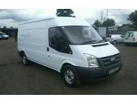 FORD TRANSIT 350/100 LWB SEMI HIGH ROOF 09 PLATE MOT MARCH